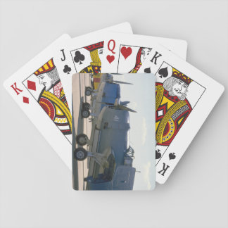 Navy Bearcat, Hellcat, TBM_WWII Planes Playing Cards