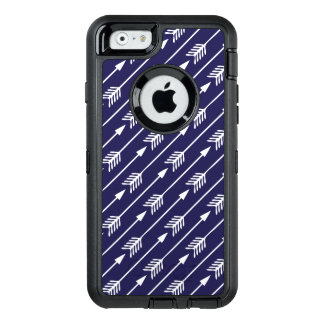 Navy Blue Arrows Pattern OtterBox iPhone 6/6s Case