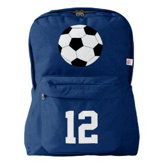 Navy Blue Backpack: Soccer Backpack