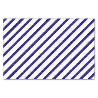 Navy Blue Stripe Tissue Paper