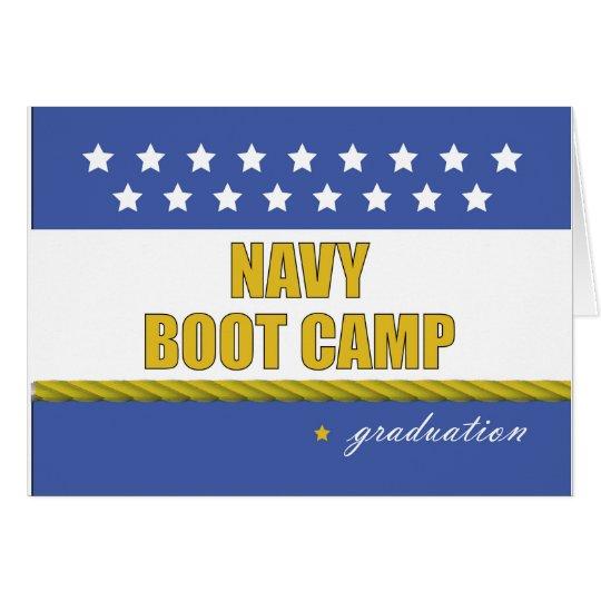 Navy Boot Camp Graduation Card