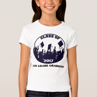 Navy Class of 2017  8th grade 2013 Grad T-Shirt