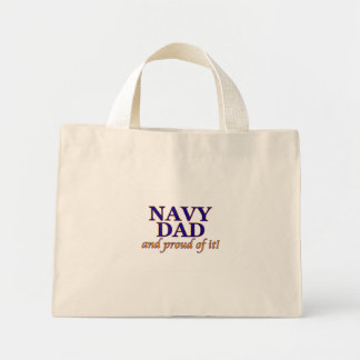 Navy Dad and Proud of It Bags