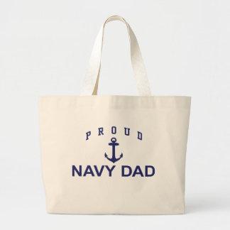 Navy Dad Bags