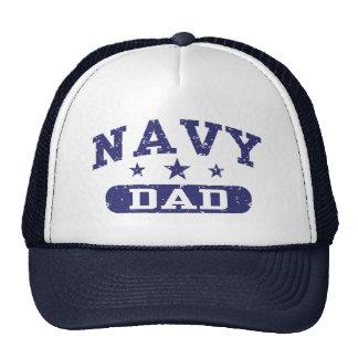 Navy Dad Cap