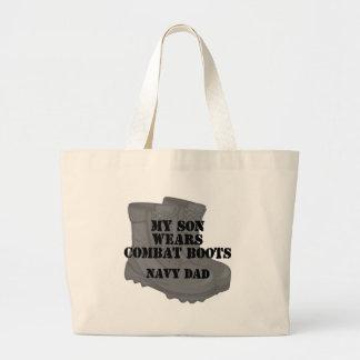 Navy Dad CB Son Bags