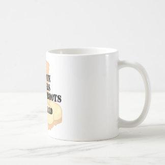 Navy Dad DCB Son Basic White Mug