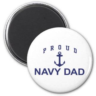 Navy Dad Magnet
