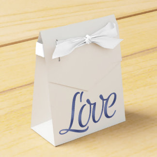Navy favor boxes wedding favour box