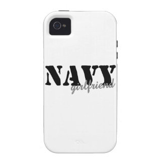 Navy Girlfriend iPhone 4 Cover