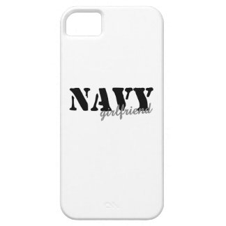 Navy Girlfriend iPhone 5 Cover