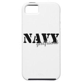Navy Girlfriend iPhone 5 Covers