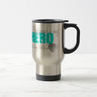 Navy Girlfriend Hero Travel Mug
