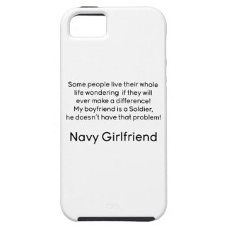 Navy Girlfriend No Problem iPhone 5 Cover