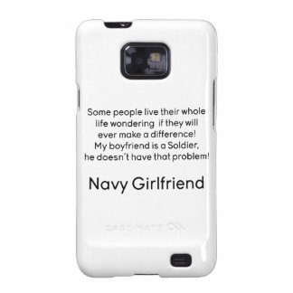 Navy Girlfriend No Problem Galaxy SII Cover