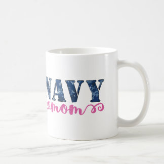 Navy Mom Camo Coffee Mug