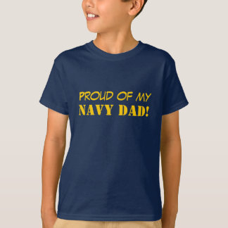 Navy Parent T-shirts