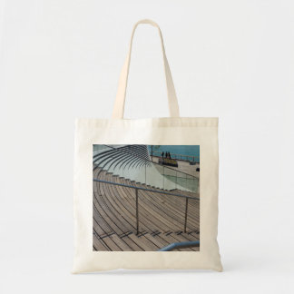 Navy Pier Stairs Tote Bag