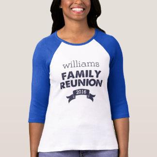 Navy & White Family Reunion T-Shirt