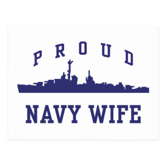 Navy Wife Post Card