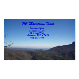 NC Mountains Views, Pack Of Standard Business Cards