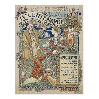 Ne Plus Ultra. Reino de Espana by Eugène Grasset Postcard
