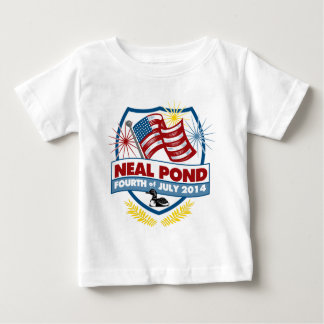 Neal Pond 2014 - Badge Baby T-Shirt