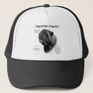 Neapolitan Mastiff (blk) History Design Trucker Hat
