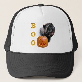 Neapolitan Mastiff Halloween Boo Trucker Hat