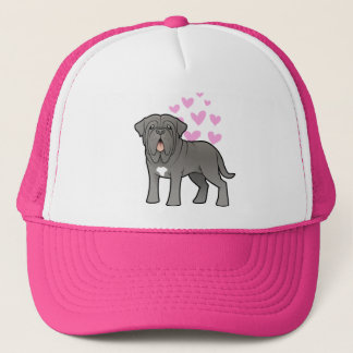 Neapolitan Mastiff Love Trucker Hat