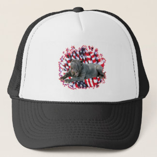 Neapolitan Mastiff Patriot Trucker Hat