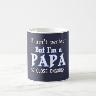 NEARLY PERFECT PAPA COFFEE MUG