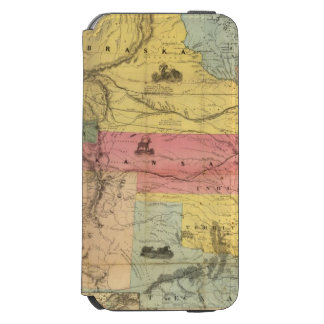 Nebraska and Kansas 2 Incipio Watson™ iPhone 6 Wallet Case