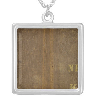 Nebraska and Kansas 4 Silver Plated Necklace