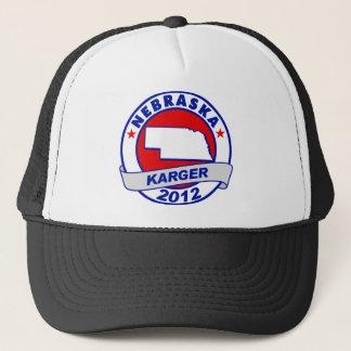 Nebraska Fred Karger Trucker Hat