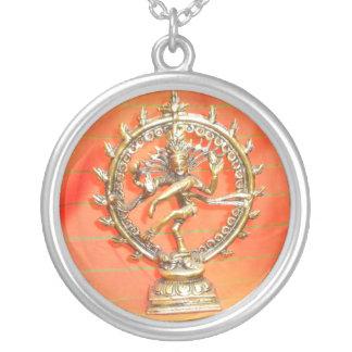 necklace orange hindi goddess god love hare