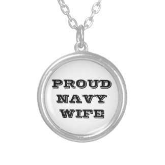 Necklace Proud Navy Wife