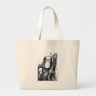 Ned Kelly Large Tote Bag