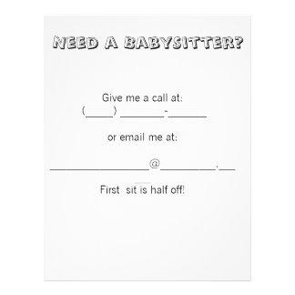 flyer babysitter