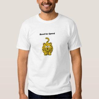 Need for Speed Cheetah Cartoon Tee Shirts
