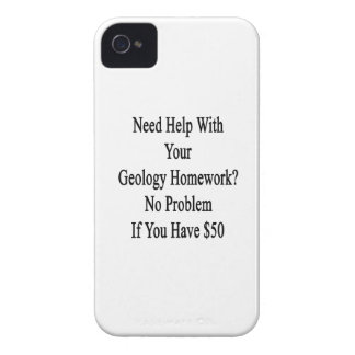 Need Help With Your Geology Homework No Problem If iPhone 4 Case-Mate Case