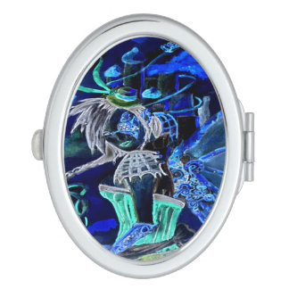 Nega Steam Punk Faery Compact Mirrors