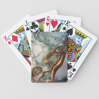 Neighbor Through Glass Photo Bicycle Playing Cards