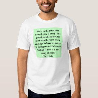 neils bohr quotation t shirts