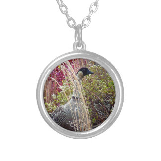 Nene Goose Silver Plated Necklace