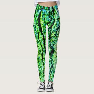Neon bark leggings