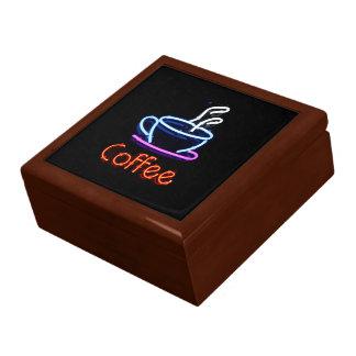 Neon Coffee Sign Gift Box