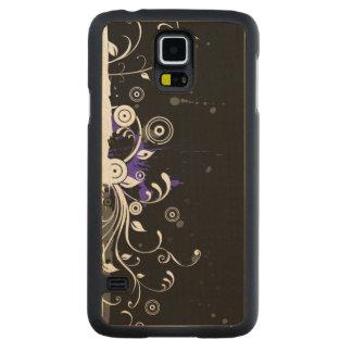 Neon Floral Maple Galaxy S5 Case