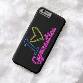 Neon - I Love Gymnastics Barely There iPhone 6 Case