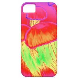 Neon Jellyfish iPhone 5 Case